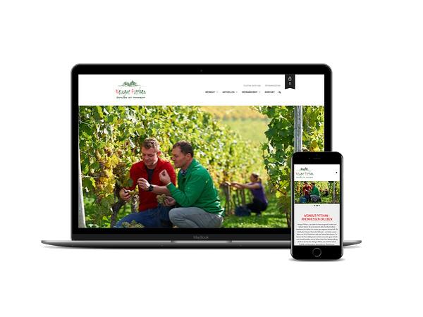Projektwebseite Pitthan - martineich.de